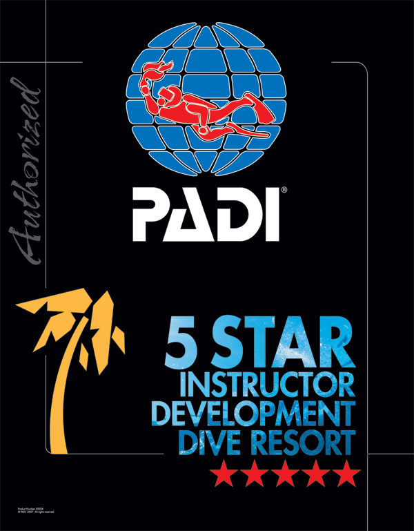 PADI 5Star Instructor Development Dive Resort